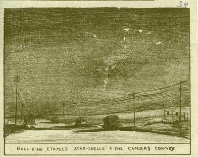 Bull-ring, Etaples. 'Star-Shells' and the Camiers Convoy