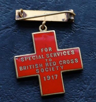 British Red Cross Special Service Cross