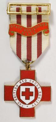 British Red Cross Technical badge: State Registered Nurse.