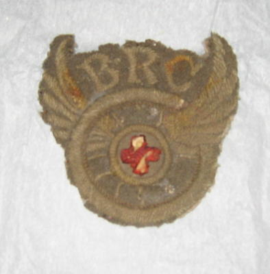 ambulance driver's sleeve badge