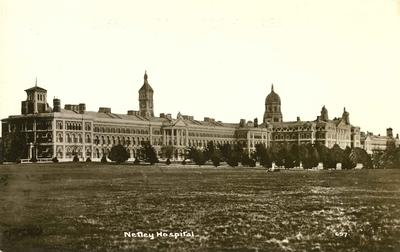 Postcard of Netley hospital