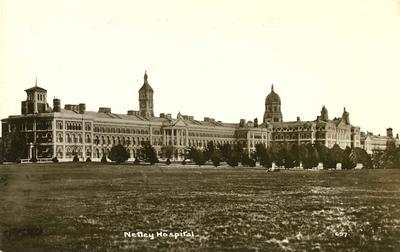 Postcard of Netley hospital; 0324/3