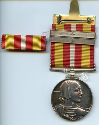 Voluntary Medical Services medal