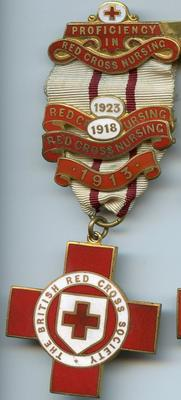 Proficiency in Red Cross Nursing badge