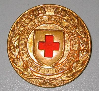 Scottish Territorial Red Cross Brigade badge