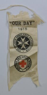 'Our Day' collecting day flag