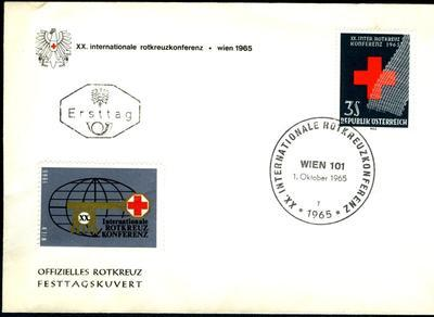 Red Cross First Day Cover: Austria 1965