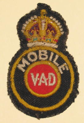 Mobile VAD cloth badge