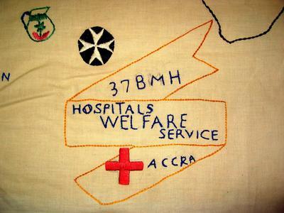 Embroidery: 37 BMH Hospitals Welfare Service, Accra [Ghana].