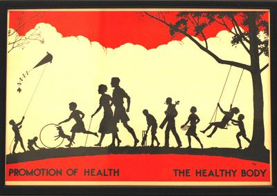 Healthy Life posters: Promotion of Health
