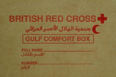 Gulf Comfort Box prepared for hostages