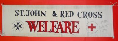 Joint Service Hospitals Welfare Department flag