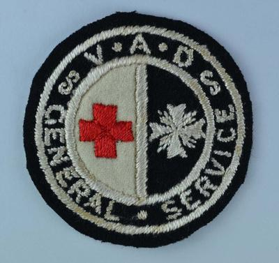 VAD General Service badge