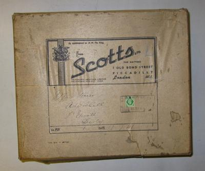 Hat box; Scotts; Uniforms/box; 1107/3