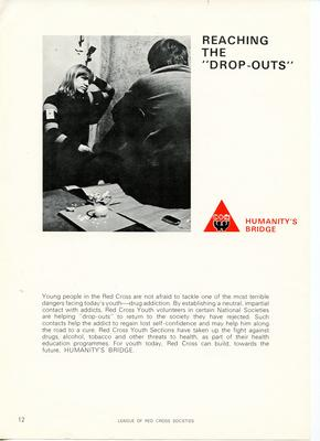 Set of League of Red Cross Societies posters: Humanity's Bridge - 'Reaching the Drop-Outs'