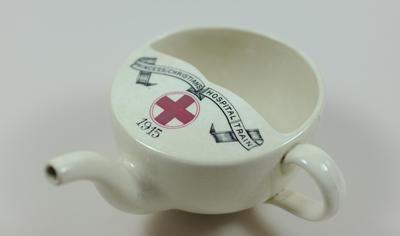 Feeding cup: Princess Christian's Hospital Train 1915
