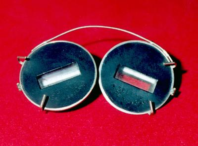pair of 'Selene' prismatic spectacles
