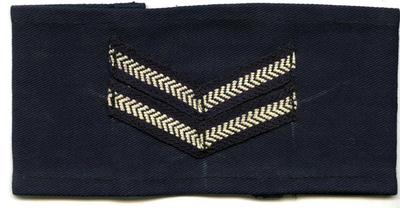 Navy blue cotton with 2 chevrons: Section Leader