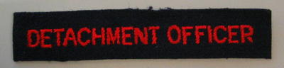 Detachment Officer flash
