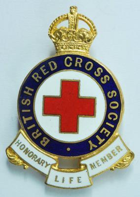 British Red Cross Badge of Honorary Life Membership