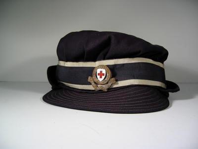 Members gabardine peak cap