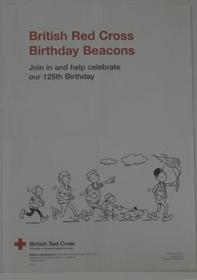 poster produced for 125th Anniversary event in 1995