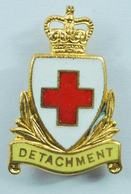 2 Detachment collar badges