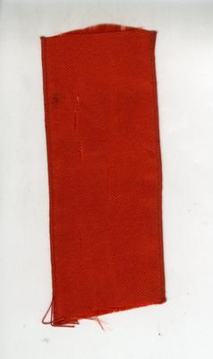 silk ribbon with Red Cross emblem