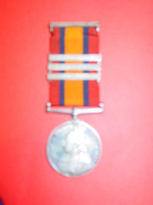 Queen's South Africa medal 1901