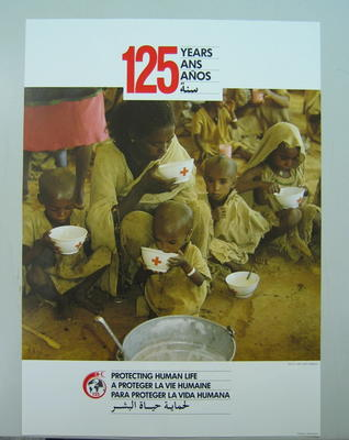 poster: 125 Years. Protecting Human Life.