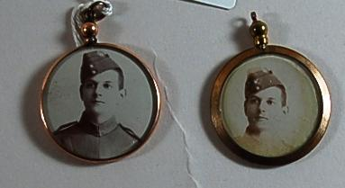 locket with photograph