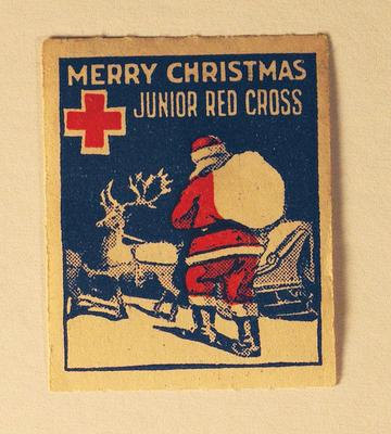 Junior Red Cross stamp