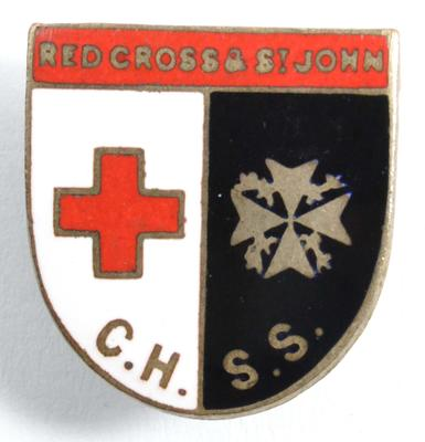 Red Cross and St John Central Hospital Supply Service badge