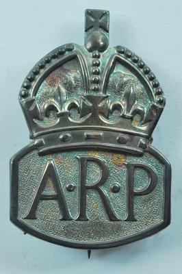 Air Raid Precautions badge