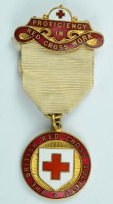 British Red Cross Proficiency badge in Red Cross Work