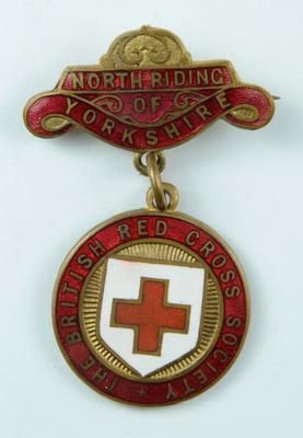 British Red Cross County badge: Yorkshire