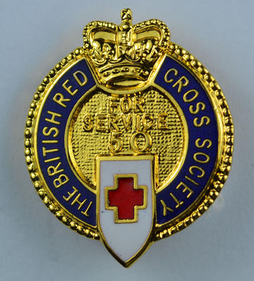 Fifty years service badge