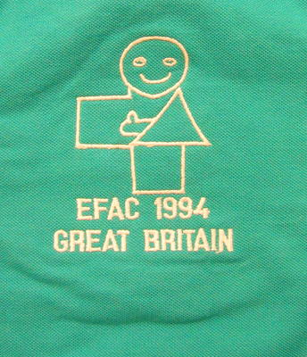 tshirt designed by Kent Branch team in the European First Aid Competition