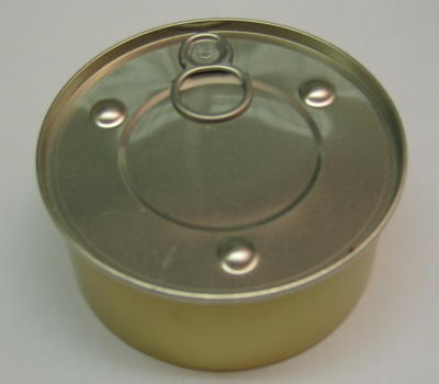 tin of processed cheese