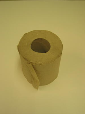 roll of toilet paper from a Hygiene Pack