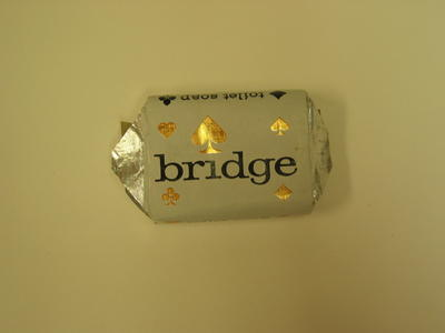 packet of 'Bridge' soap