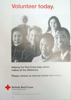 Poster promoting volunteering