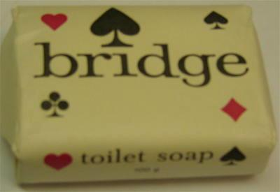 two bars of bridge toilet soap