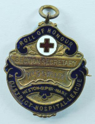 Roll of Honour medallion