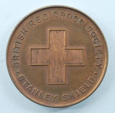 British Red Cross Stanley Shield medal in box