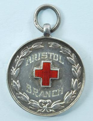 British Red Cross Bristol branch Wills Cup 1945 medal