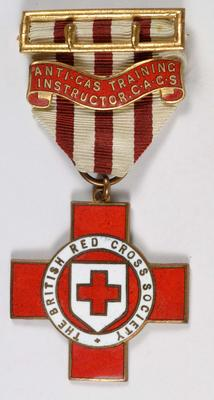Technical badge, Anti-Gas Training Instructor C.A.G.S.