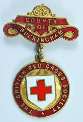 County badge: County of Buckingham