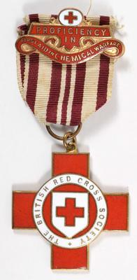 Proficiency in Red Cross First Aid in Chemical Warfare badge