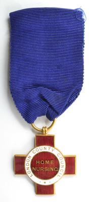 London County Council badge in home nursing
